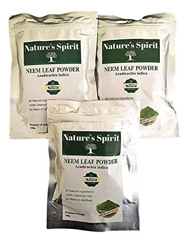 azadirachta indica - polvere per foglie di neem, 100 g, 100% naturale, senza sostanze chimiche, 100 g