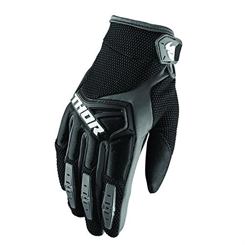 Preisvergleich Produktbild Thor Spectrum Motocross MTB Handschuhe 2018 - Schwarz