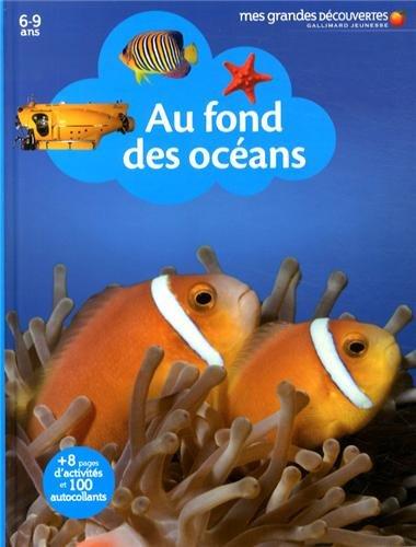 Au fond des océans par Gallimard