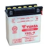 YUASA-Batterie YAMAHA 125ccm YBR 125 ab Baujahr 2004 (YB5L-B)