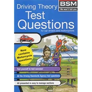 BSM Driving Theory Test Questions for car drivers and motorists by British School of Motoring (2000-07-13)