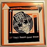 12 'Cadre pour disque vinyle de 5 couleurs différentes (Argent)