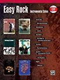 Easy Rock Instrumentals (alto sax/CD) --- Sax Mib/Piano - Various --- Alfred Publishing