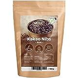 Kakao Nibs 400g - (Aktionspreis) Premium Rohe Kakaonibs ▪ Wehle Sports Rohkostqualität abgefüllt in Deutschland (400g)