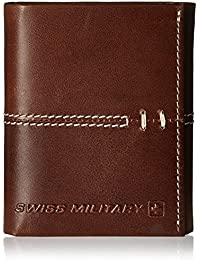 Swiss Military Brown Leather Wallet (LW-18)