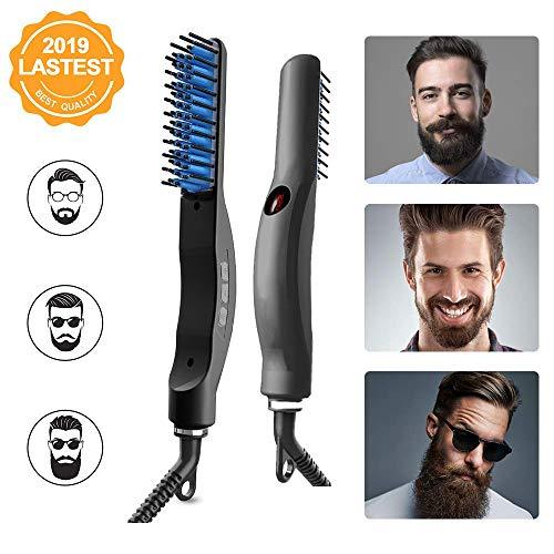 Cepillo Alisador de Barba Profesional