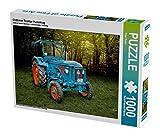 Oldtimer Traktor Hanomag 1000 Teile Puzzle quer: Ein Motiv aus dem Kalender Oldtimer Schätze von Peter Roder (CALVENDO Technologie)