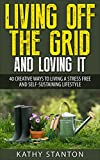 Living Off The Grid And Loving It: 40 Creative Ways To Living A Stress Free And Self-Sustaining Lifestyle (Simple Living, Off Grid Living, Off The Grid Homes, DIY Survival Guide, Prepping & Survival)