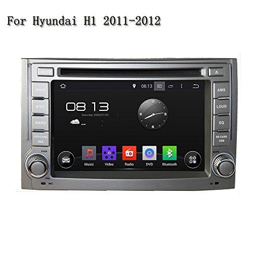 15,7cm-INDASH Android Auto DVD Player mit GPS TV/BT 3G WiFi, Unterstützung Kamera, Lenkradfernbedienung, USB/SD AUX, Audio Radio Stereo, Car Multimedia Haupteinheit für Hyundai H12011~ 2012 (Hyundai Dvd-player)