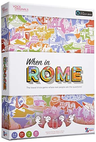 Stimme Originals, Wenn in Rom Travel Trivia Spiel unterstützt von Alexa