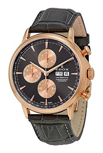 Edox Les Bémonts orologio uomo cronografo automatico 01120 37R GIR