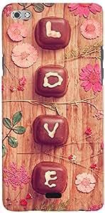 PRINTVISA Love Chocolate Mobile Case Cover for Micromax Canvas Sliver 5 Q450 (Multicolour)