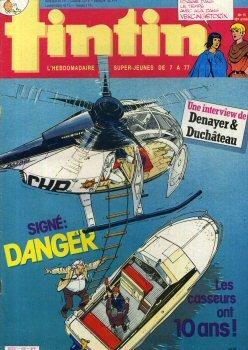 Tintin (nouveau) n° 500 - 1985