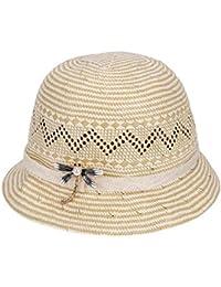 Yahuyaka Sombrero de Paja de Las Mujeres del Jugador de Bolos Sombrero al  Aire Libre Respirable def9af1e942d