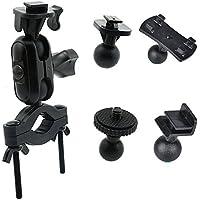 MyArmor Ultimate Kit di montaggio Dash Cam specchio specchietto retrovisore auto supporto con L-Joint Adattatore per guida DVR fotocamera videocamera/Bicicletta Staffe per GPS Action Camera