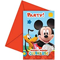 Unique Party Amscan Playful Mickey Invites/Envelopes Party Accessory