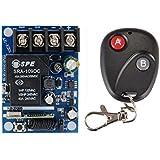 Einzelne Taste perfk AC 85V 260V Fernbedienung 433 MHz Empf/änger Sender Funksteuerung Funkfernbedienungsschalter