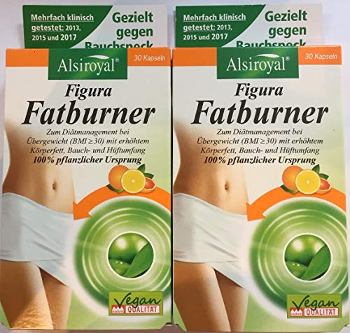 Figura Fatburner Kapseln, 2er Pack / Doppelpack