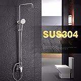 NewBorn Faucet Wasserhähne Warmes und Kaltes Wasser Guter Qualität aus rostfreiem Stahl 304 in der Dusche Wasser Dusche Kit Solar Dusche Ventile