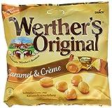 Werther's Original Caramel & Crème – Köstliche Sahnebonbons mit zartfließendem Karamell-Kern und unwiderstehlichem Geschmack – 15 x 225g Beutel