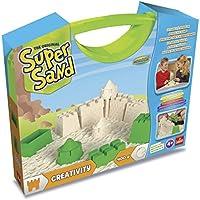 Goliath Kit De Loisirs Créatifs - Super Sand Malette Créative et malette Reine des Neiges