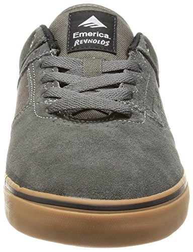 Emerica The Reynolds Low Vulc, Chaussures de skateboard homme Gris - Grigio(grey/white/gum)