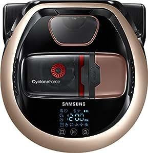 Samsung VR7000 VR2DM7060WD/EG POWERbot Saugroboter (130W extra starke Saugkraft ideal für Teppiche und Tierhaare, saubere Ecken, WLAN und App, Alexa, Fernbedienung, Startzeit-Vorwahl) gold