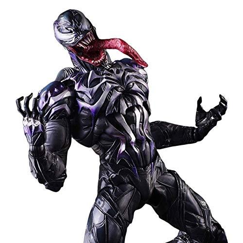 WJGJ 11 Zoll Gift Action Figure Marvel Super Spiderman, Gelenke können aktive PVC-Spielzeug Sein (Wolverine Marvel Helden Kostüm)