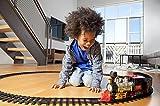 #5: Battery operated Light Sound Smoke ChooChoo Classical Train Track Set For Kids