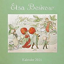 Elsa-Beskow-Kalender 2021: Broschurenkalender