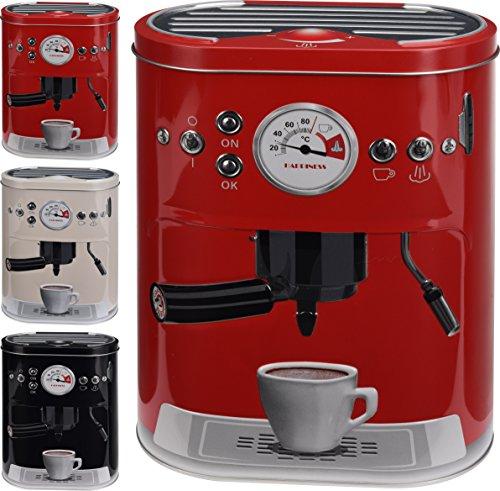 hibuy Kaffeedose Vorratsdose im Espresso Siebträgermaschine Design. Für Kaffeepads, Kaffeepulver,...