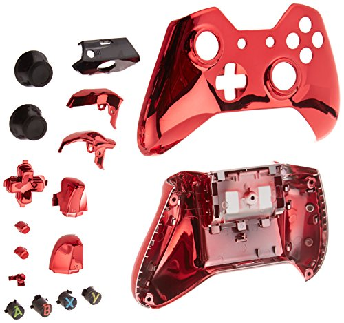 Game Bully Xbox One Controller Full Housing Shell Chrome Red 51uPz9nzs4L