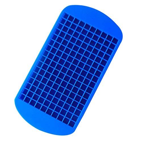 Lazzboy Party-Ziegel-Quadrat-Whisky-EIS-Block-Würfel-Hersteller-Behälter-Kugel-Form-Form-Küche (Blau, Ca 23.5x11.8cm)