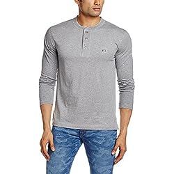 Jockey Men's Cotton T-Shirt (8901326113240_US87_Medium_Grey Melange)