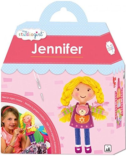 Piatnik 311231 - My Studio Girl - Jennifer, Kinder-Bastelset