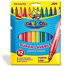 Carioca - Bolsa de cartón con 12 rotuladores (Joy)