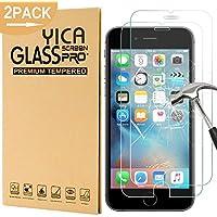 [2 Stück] iphone 6/6s Panzerglas Glasfolie Glas Schutzfolie ,Yica 0.25 mm 9H Hartglas Glasfolie Displayschutzglas Display Folie Screen Protector für iphone 6s/iphone 6