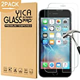 [2 Stück] iphone 6/6s Panzerglas Glasfolie Glas Schutzfolie ,Yica 0.25 mm 9H Hartglas Glasfolie Displayschutzglas Display Folie Screen Protector für iphone 6s/iphone 6