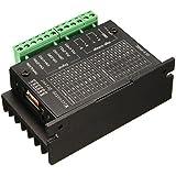 Controlador de motores de impulso - TOOGOO(R)20KHZ CNC Controlador de motores de impulso de un solo eje TB6600 2/4 motor de pasos del conductor hibrido negro