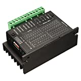 Controlador de motores de impulso - SODIAL(R)20KHZ CNC Controlador de motores de impulso de un solo eje TB6600 2/4 motor de pasos del conductor hibrid