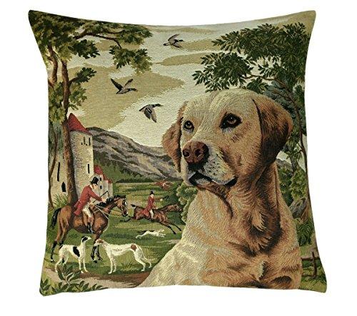 Fodera per cuscino elegante, decorativo per 46 x 46 cm forest dog 1, set cushion