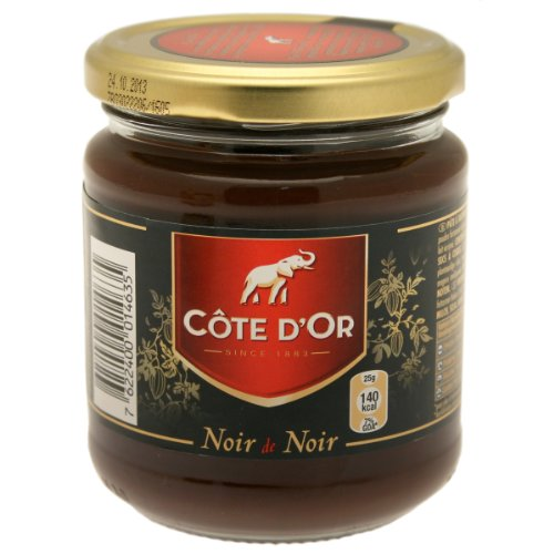 Côte dÂ'Or Noir pâte à tartiner