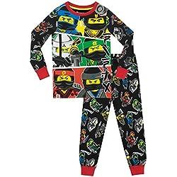 Lego Ninjago - Pijama para Niños - Lego Ninjago - Ajuste Ceñido - 11 - 12 Años