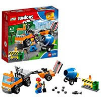 LEGO UK 10750 Juniors Road Repair Truck Toy for Boys and Girls