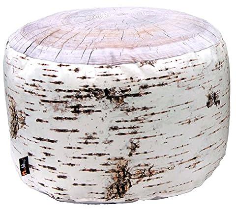 merowings 4260190317296Birch Stump Tabouret, diamètre 60x