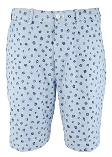 Polo Golf Ralph Lauren Herren-Shorts, Marienkäfer-Druck, klassischer Passform, Stretch, Blau - Blau - 52