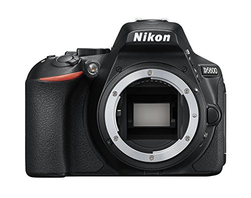 Nikon D5600- Cámara réflex de 24.2 MP sin objectivo (Pantalla táctil de 3', Full HD) Negro,...