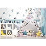 Bordo Mädchen Kinderzimmer Frozen Tiffany in Papier glänzend selbstklebend Disney Fantasy Deco Dandino fr3524–3.