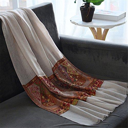 La dame grise Écharpe d'hiver écharpe châle à franges 190cm*88cm tout-match fashion color longue,003-8 001-2