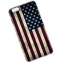 iPhone 6 Plus, 6s Plus Protective Slim Case. Tasche Cover. USA Flag.